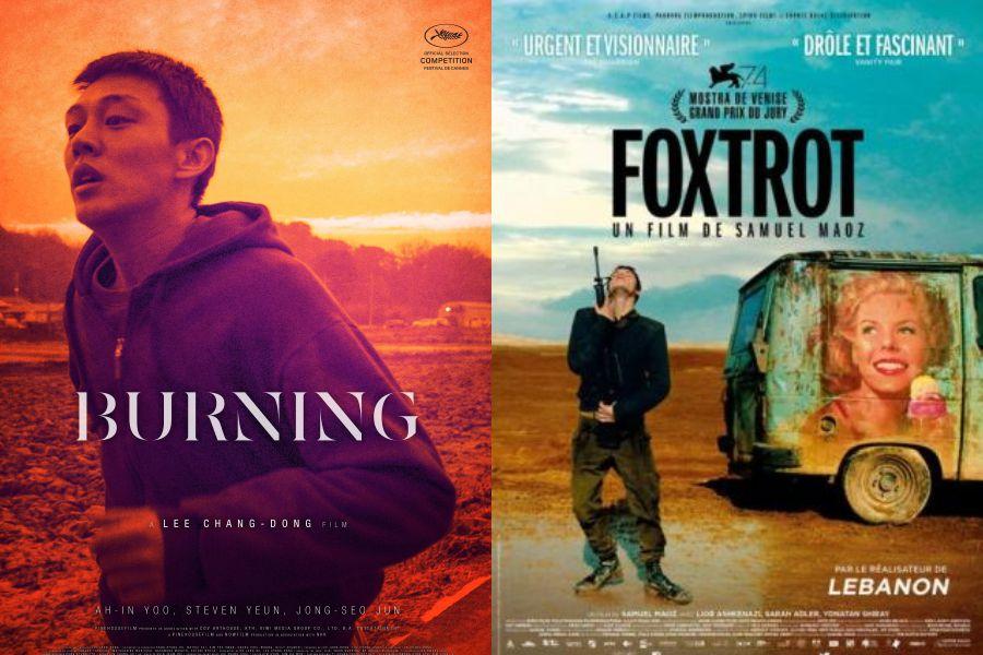 Ljetno kino: Burning i Foxtrot