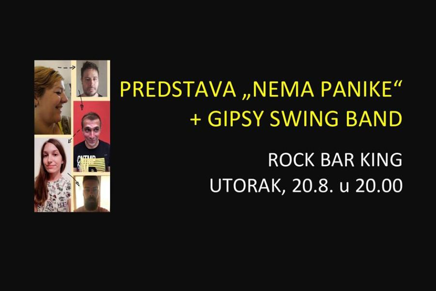 "Predstava ""Nema panike"" i Gipsy Swing Band"