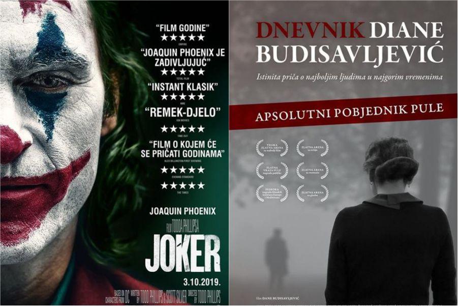 U kinu: Joker i Dnevnik Diane Budisavljević
