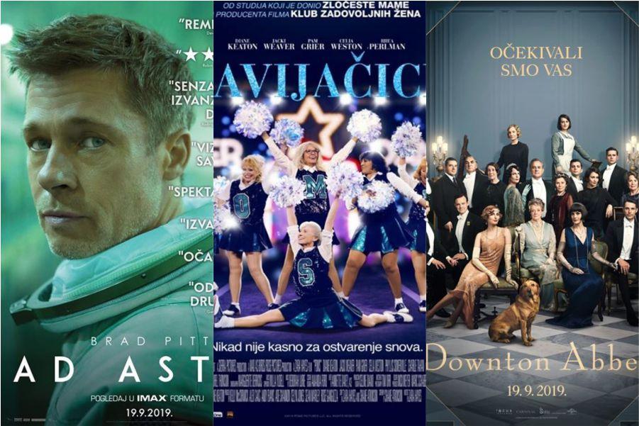 U kinu: Ad Astra, Navijačice i Downtown Abbey