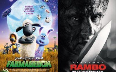 U kinu: Janko Strižić film: Farmagedon i Rambo: Do zadnje kapi krvi