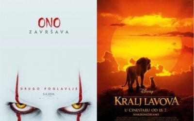 U kinu: Ono: Drugo poglavlje i Kralj lavova (2D i 3D) sinkronizirano