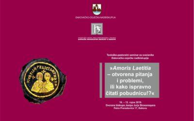Teološko-pastoralni seminar za svećenike Đakovačko-osječke nadbiskupije