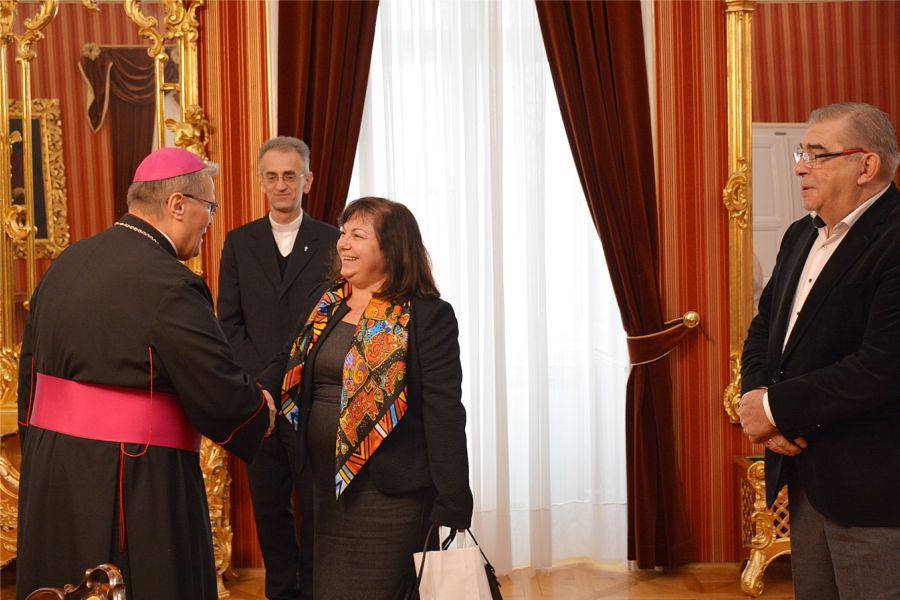 Veleposlanica Republike Bugarske u posjetu Đakovačko-osječkoj nadbiskupiji