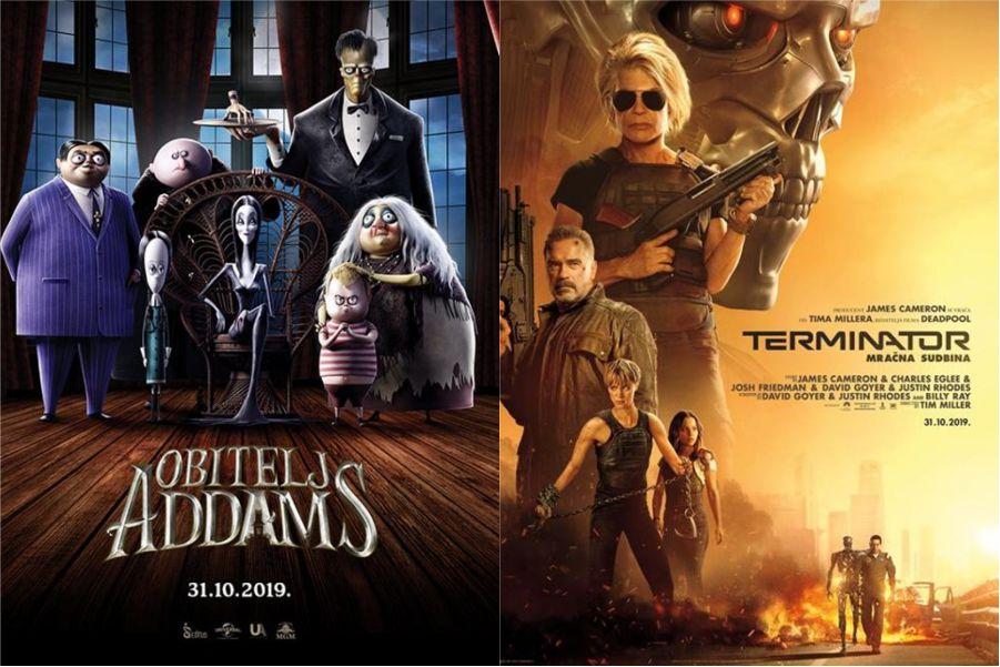 U kinu: Obitelj Addams i Terminator: Mračna sudbina