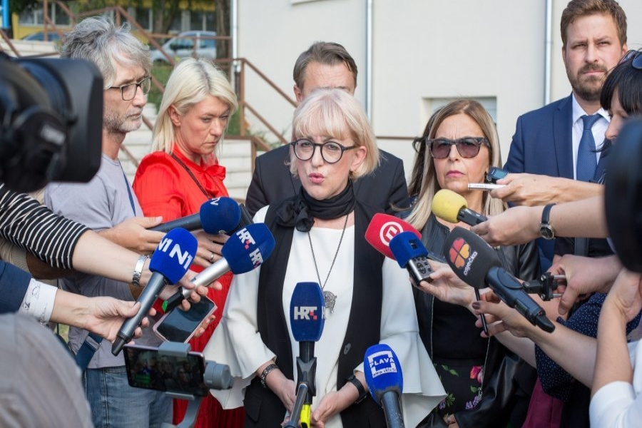 Ministrica Bedeković posjetila Centar za socijalnu skrb u Đakovu