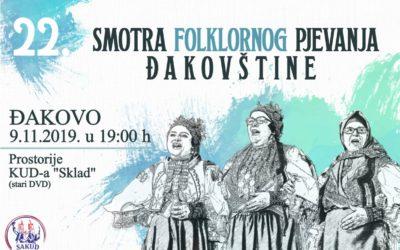 22. Smotra folklornog pjevanja Đakovštine