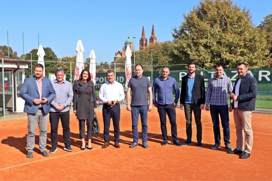 Izgradnjom Regionalnog društvenog teniskog centra staviti Đakovo na tenisku kartu svijeta