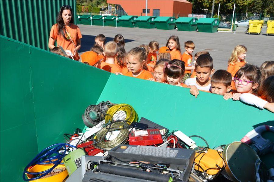 Zvrkani u reciklažnom dvorištu učili razdvajati otpad