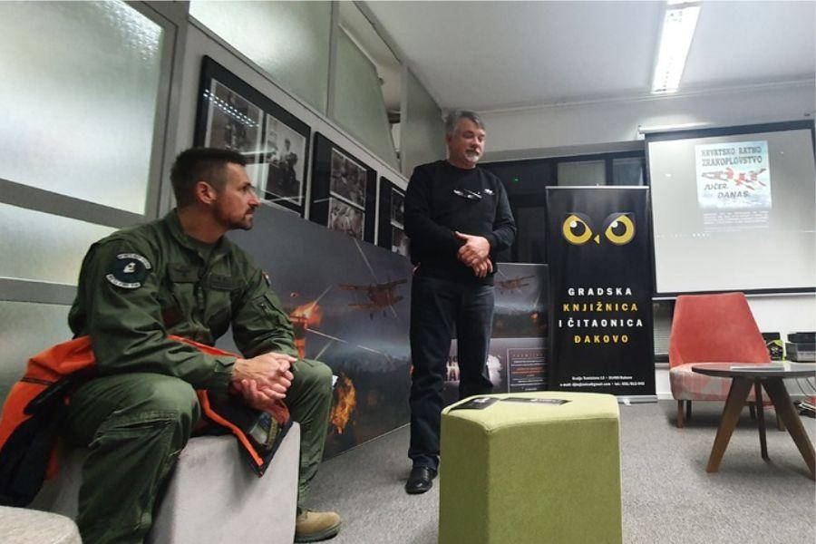 "Održano predavanje ""Hrvatsko ratno zrakoplovstvo: jučer, danas, sutra"""