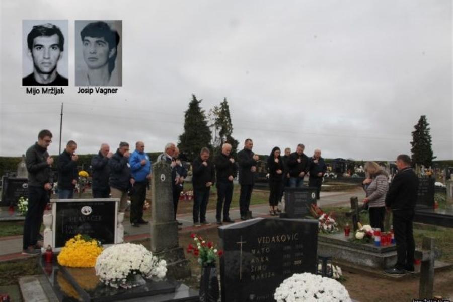 Komemoracija poginulim braniteljima u Budrovcima