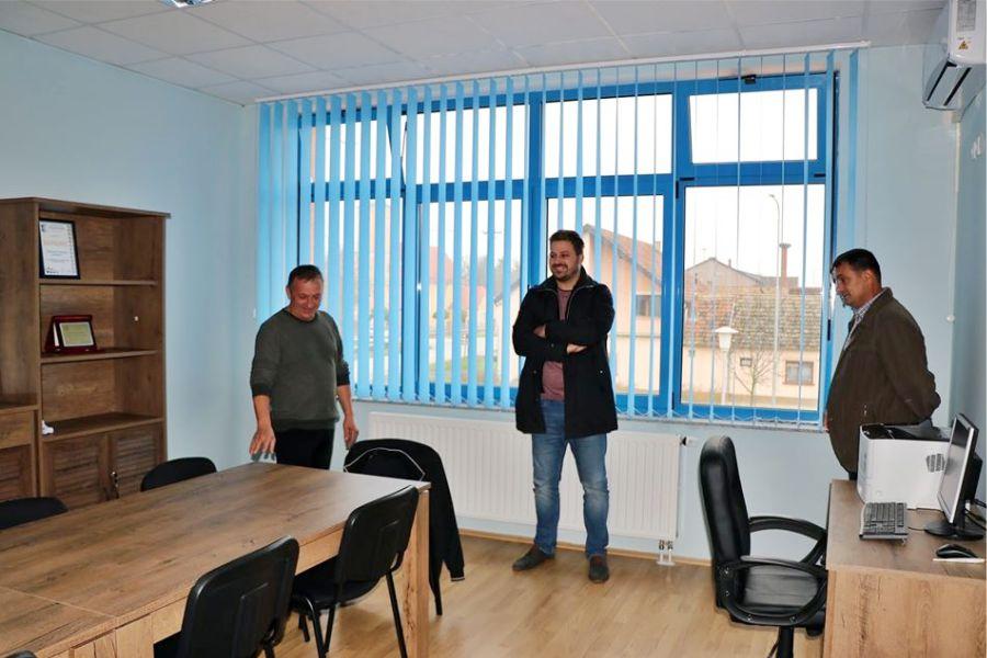 Otvara se ured mjesnog odbora Budrovci