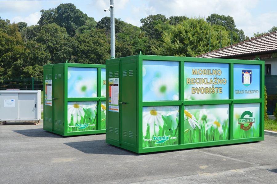 Mobilno reciklažno dvorište danas u Ivanovcima