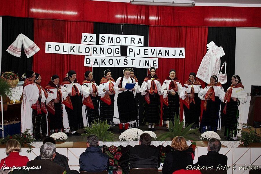 Održana 22. Smotra folklornog pjevanja Đakovštine