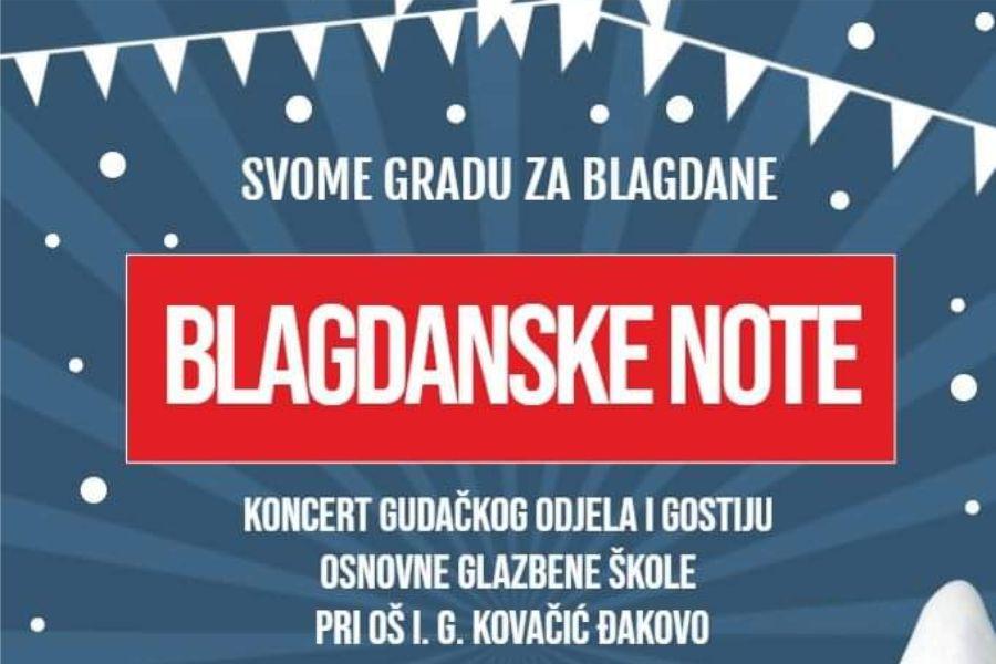 Blagdanske note u Gradskoj knjižnici i čitaonici