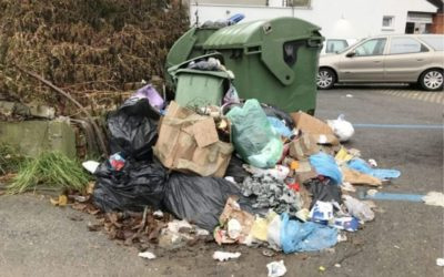 Stop odbacivanju otpada u centru grada