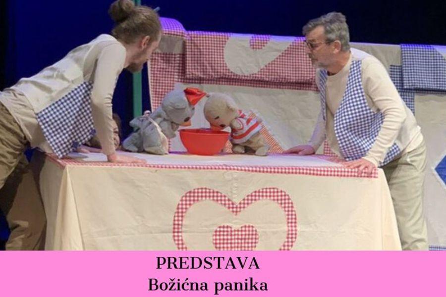 Predstava: Božićna panika