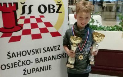 Borna Solin županijski prvak do 11 godina!