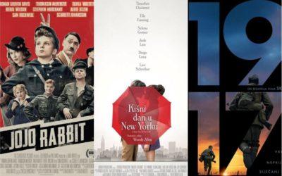 U kinu: Jojo Rabbit, Kišni dan u New Yorku i 1917