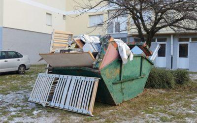 Odvoz glomaznog otpada u Općini Trnava