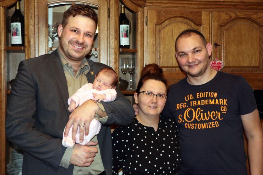 Gradonačelnik posjetio prvu bebu rođenu u 2020. godini