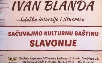 Izložba intarzija i sitnoreza Ivana Blande