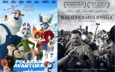 Ovoga vikenda u kinu: Polarna avantura i Slučaj Richarda Jewella