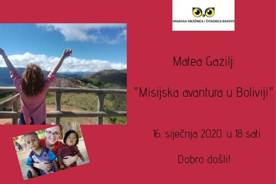 Misijska avantura u Boliviji