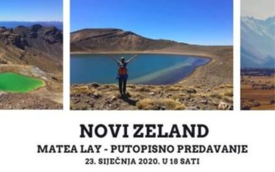Novi Zeland – putopisno predavanje