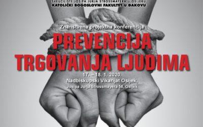 """""""Prevencija trgovanja ljudima"""" – znanstveno projektna konferencija"""