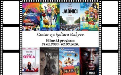 Centar za kulturu Đakovo – tjedni pregled