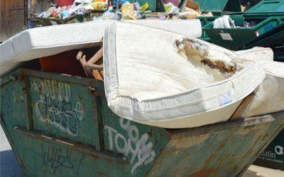 Skupljanje glomaznog otpada u Tomašancima