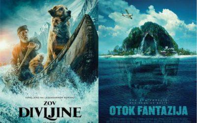 U kinu: Zov divljine i Otok fantazija