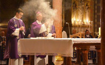 Pepelnica u đakovačkoj katedrali