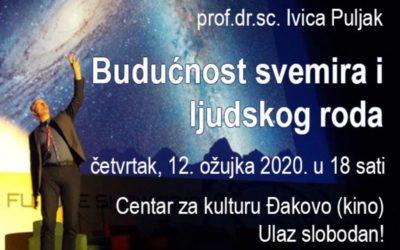 """Predavanje """"Budućnost svemira i ljudskog roda"""""""