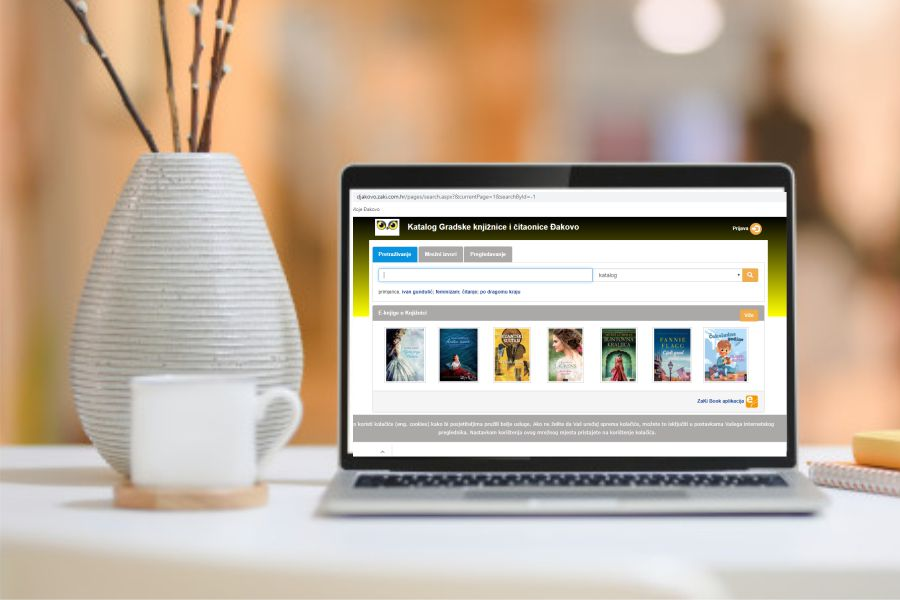 Posudba e-knjiga – Gradska knjižnica i čitaonica Đakovo