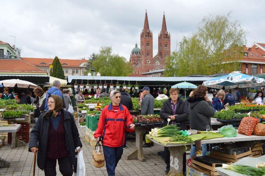 Gradska tržnica ostaje otvorena, uz mjere opreza