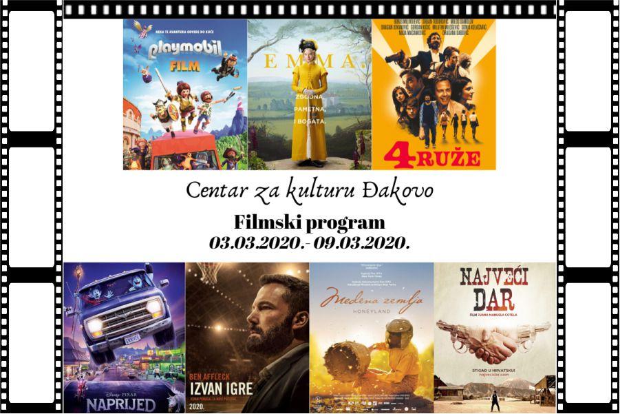 Centar za kulturu Đakovo – tjedni program