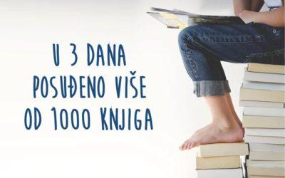 U 3 dana Đakovčani posudili više od 1000 knjiga iz Gradske knjižnice