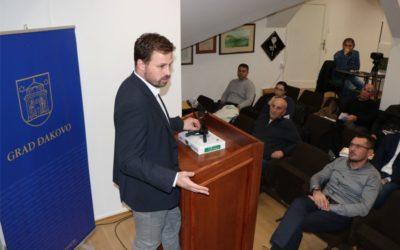 Saziv 21. sjednice Gradskog vijeća Grada Đakova