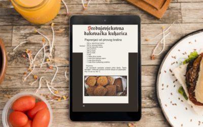 """E-knjiga """"Srednjovjekovna đakovačka kuharica"""""""