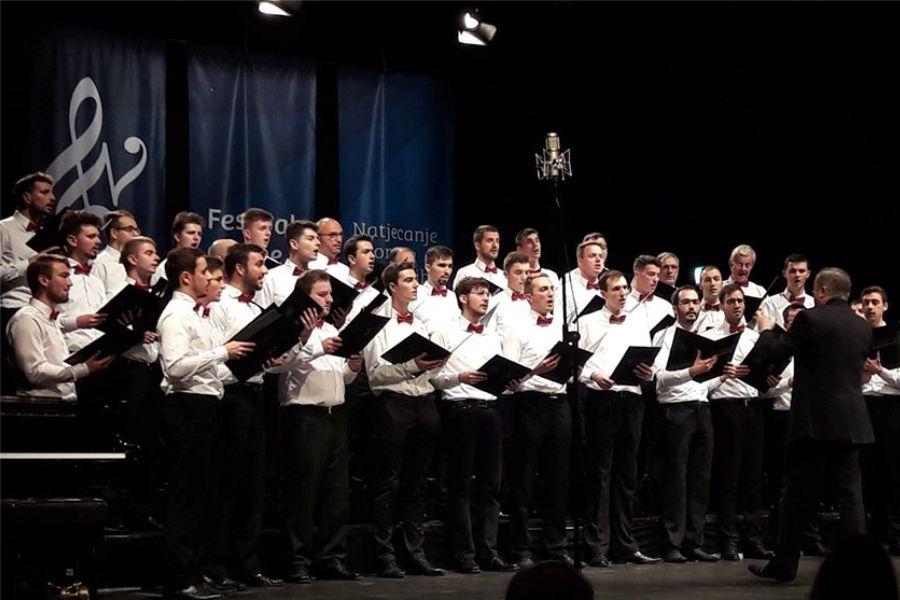 Koncert Akademskog muškog zbora Fakulteta elektrotehnike i računarstva