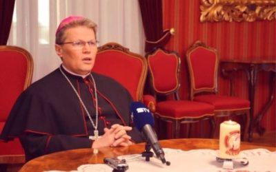 Uskrsna pastirska poruka i čestitka nadbiskupa Đure Hranića