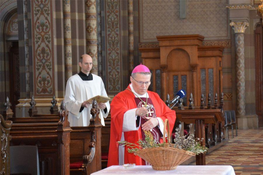 Cvjetnica u đakovačkoj katedrali