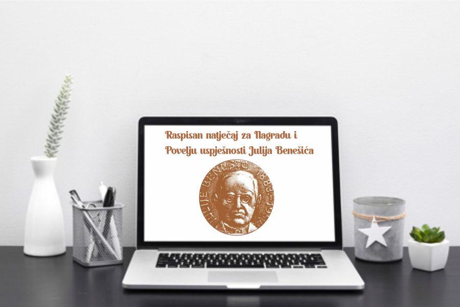 Raspisan natječaj za Nagradu i Povelju uspješnosti Julija Benešića