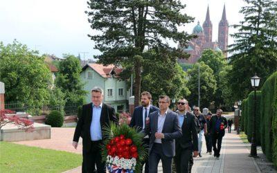 Delegacija Grada Đakova obilježila Dan državnosti