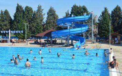 Na Gradskim bazenima ponovno otvorena aquagan staza