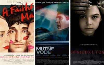 U kinu: Vjeran čovjek, Mutne vode i Opsjednutost