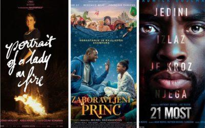 U kinu: Portret djevojke u plamenu, Zaboravljeni princ i 21 most