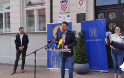 Održana press konferencija Stožera civilne zaštite Grada Đakova